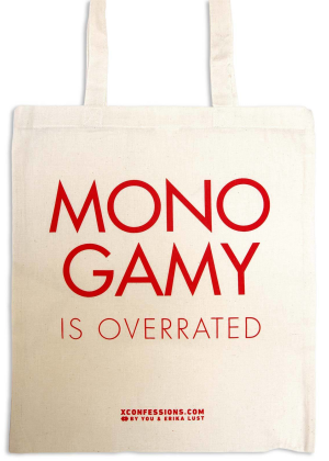 Monogamy is Overrated  Tote bag